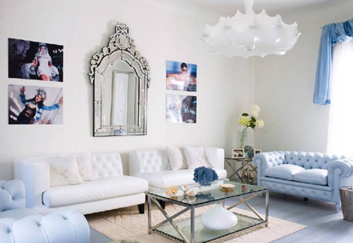 Lovable Blue And Silver Living Room Designs Home Design Ideas Layjao