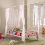 Twin Size Canopy Bed Curtains Black Headboards For Queen Beds Layjao