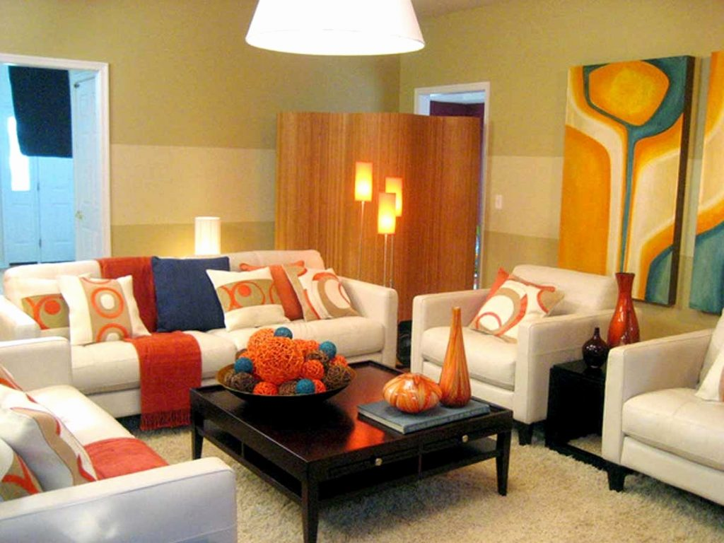 Grey Orange Living Room Furniture Ideas Layjao