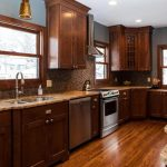 Wall Colors With Dark Wood Kitchen Cabinets Layjao