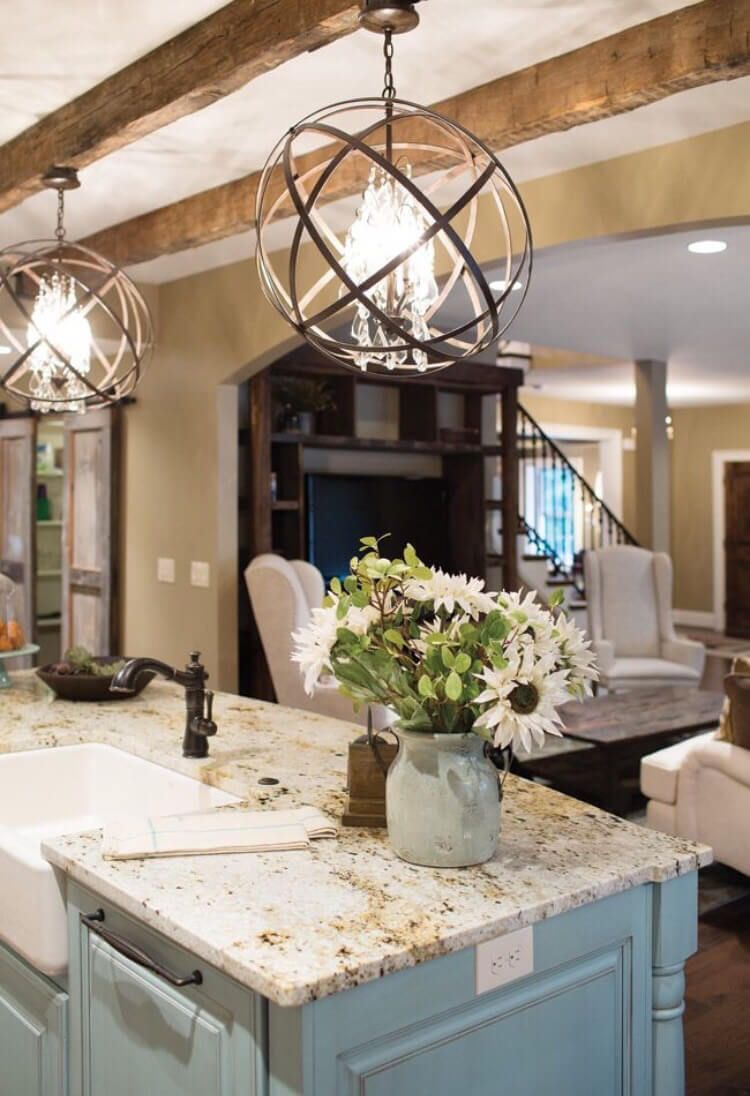 rustic light fixtures for kitchen home