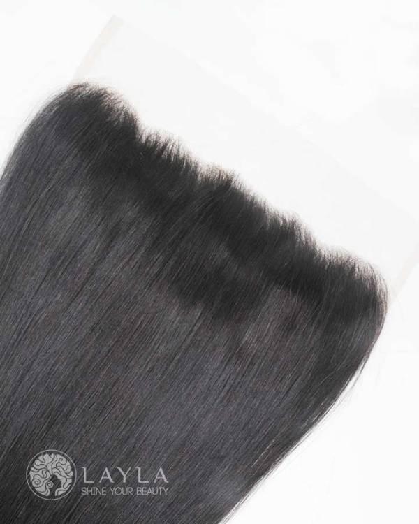 "Frontal closure straight hair 22"""