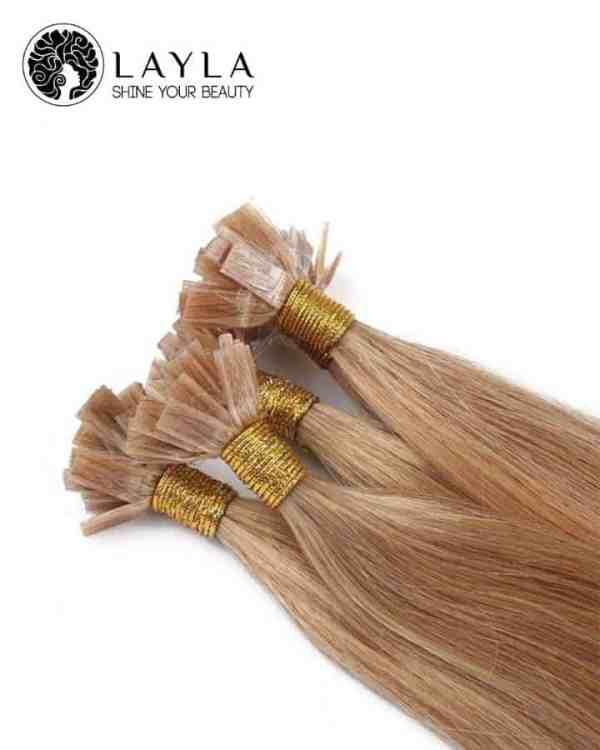 Flat tip straight hair high quality 24''