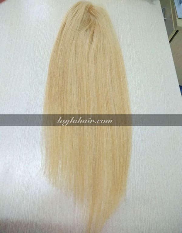 26-Inch-Blonde-Clip-in-Straight-Hair-Topper-with-bangs