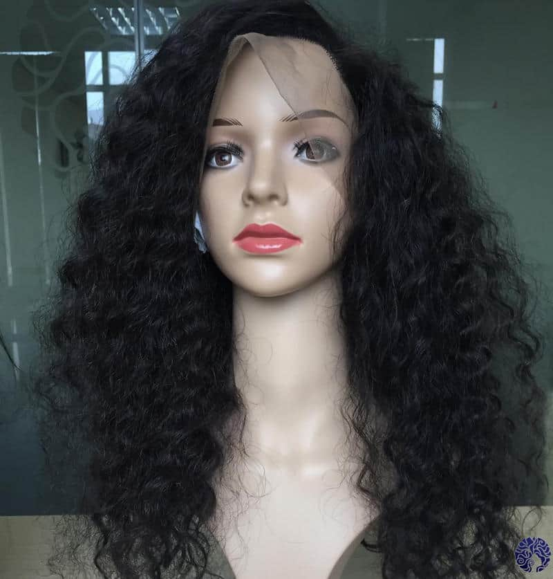 Full Lace Front Human Hair Wigs with Baby Hair