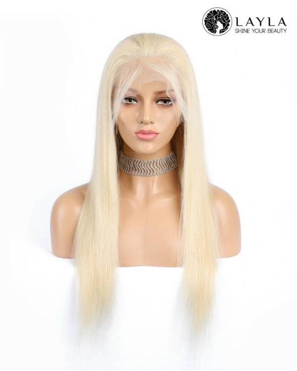 28 Inch Blond Full Lace Wig