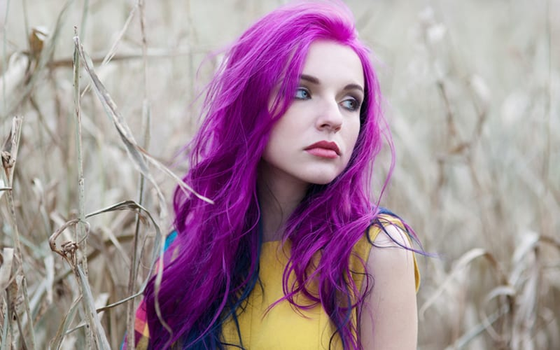 What happens if you put brown dye on purple hair? Answers From Experts