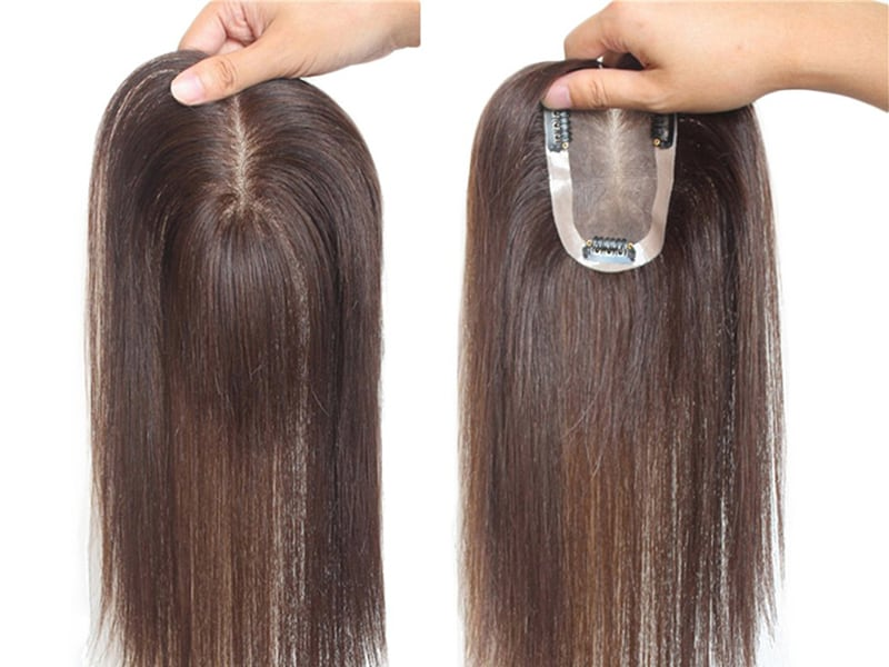 How To Put On A Topper Hair Piece? - Hair Topper Installation