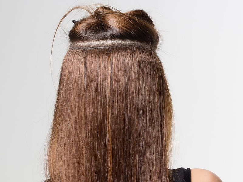 What Are Skin Weft Hair Extensions? Get Your Scoop On!