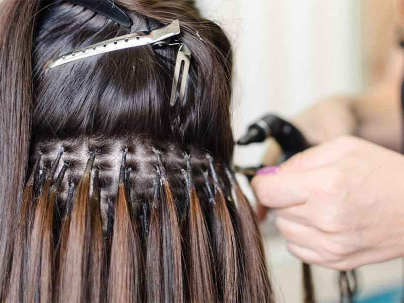 Glue In Extensions For Short Hair FAQs - Everything You Need To Know