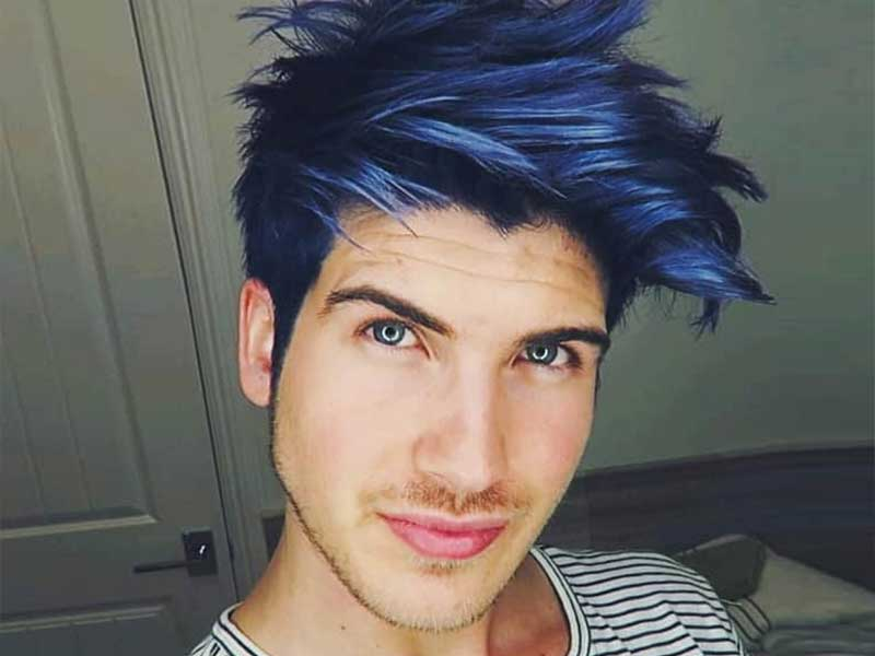 The Lazy Man's Guide To Blue Black Hair Men