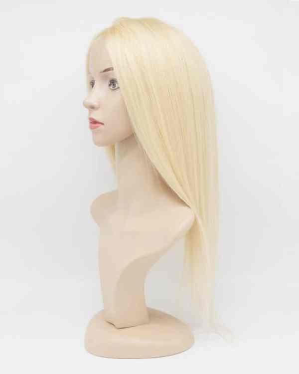 Real Hair Topper Blonde 130 Density Laylahair