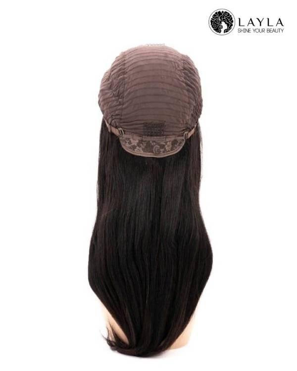 Natural Straight Lace Closure Wig 150% Density