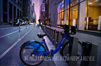 NYC #MBFW citibike