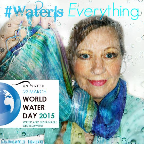 world water day- layla morgan wilde #waterIs