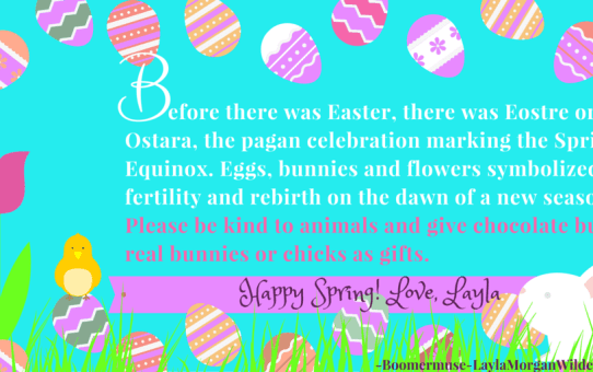 Spring Equinox:The Real Easter and No Dance With The Devil