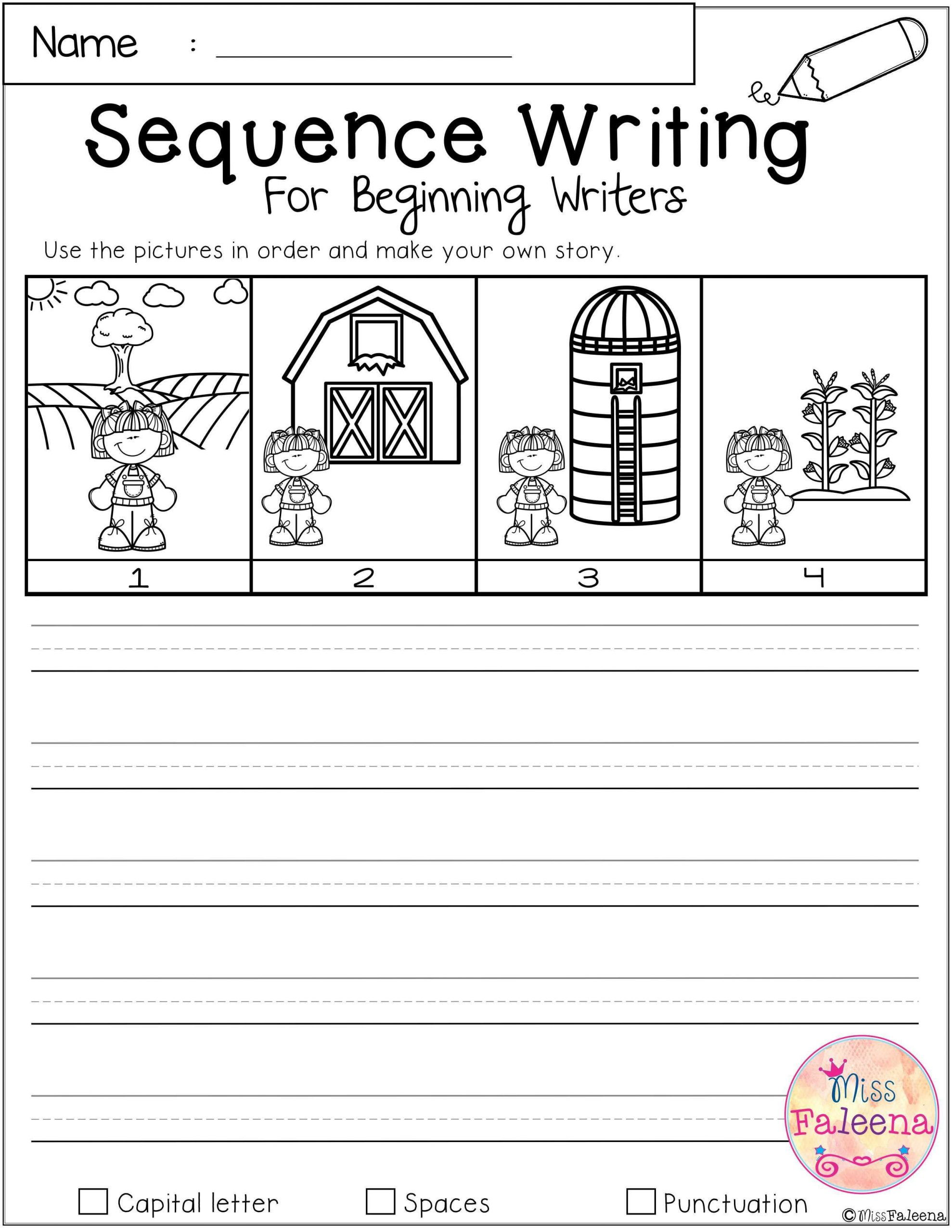 30 Sequencing Picture Worksheets
