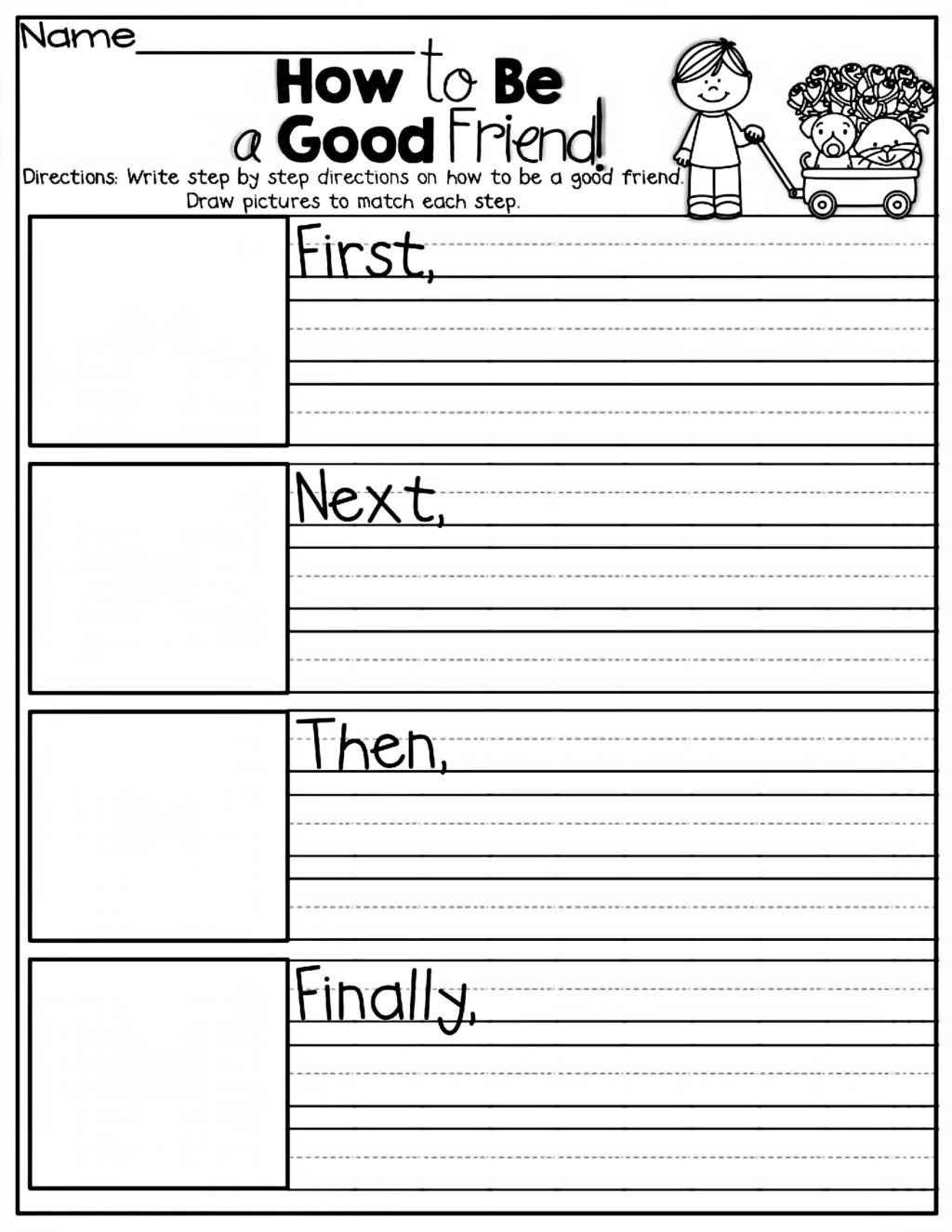Impulse Control Worksheets For Kids Template Library