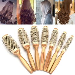 7 Pro Round Brush Curly Hair Roller Brush