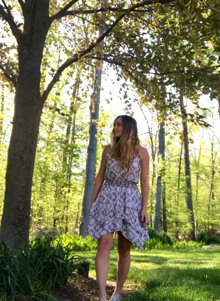 BLOOMINGDALES EXCLUSIVE AQUA DRESS :: ON SALE