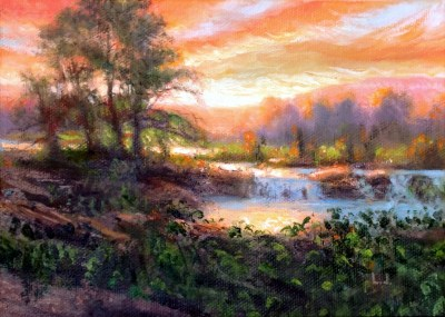 Creek at Sunrise
