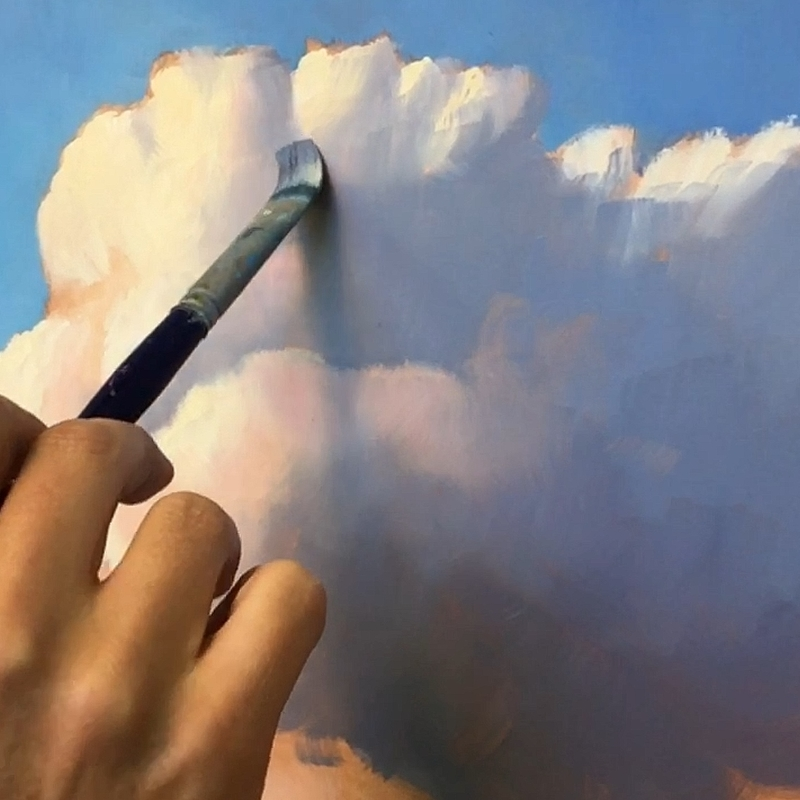Painting the clouds
