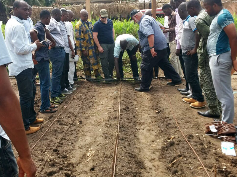 Agricultural training in Cameroon