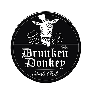 Werbeagentur Layoutriot referenzen: the drunken donkey logo