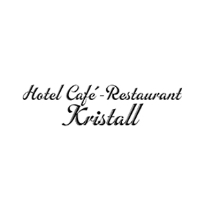 Werbeagentur Layoutriot referenzen: cafe restaurant kristall logo