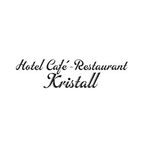 Werbeagentur Layoutriot referenzen: cafe restaurant kristall logo