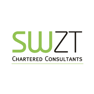 Werbeagentur Layoutriot referenzen: swzt chartered consultants logo