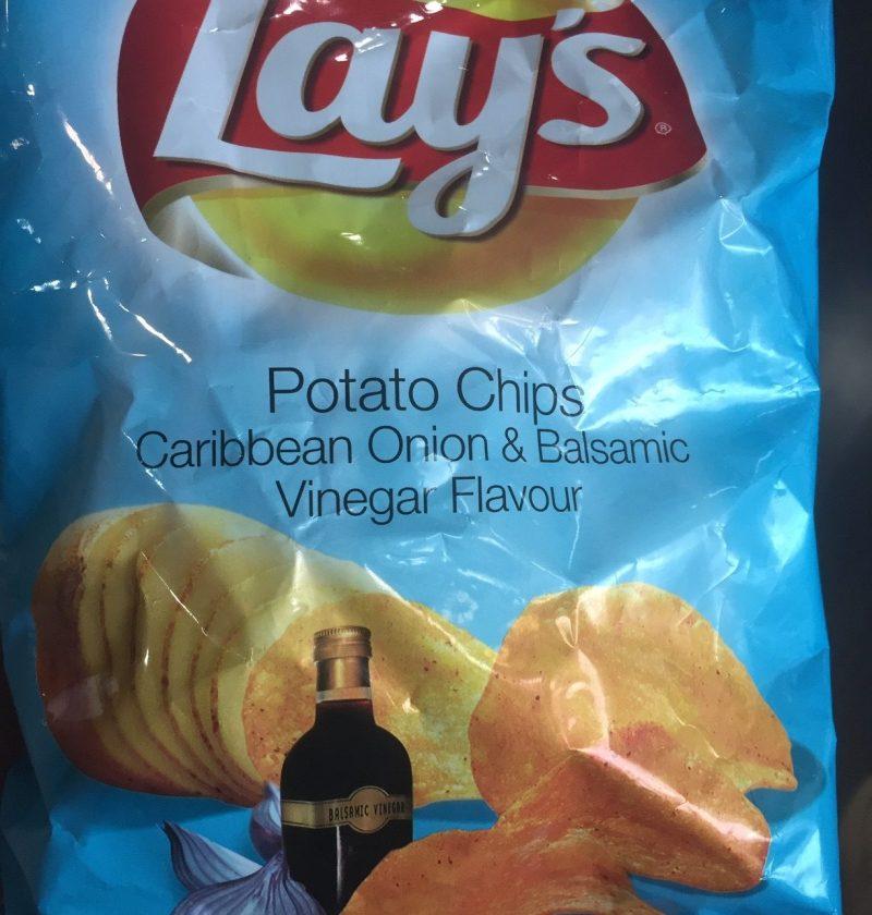 Caribbean onion & balsamic vinegar flavor