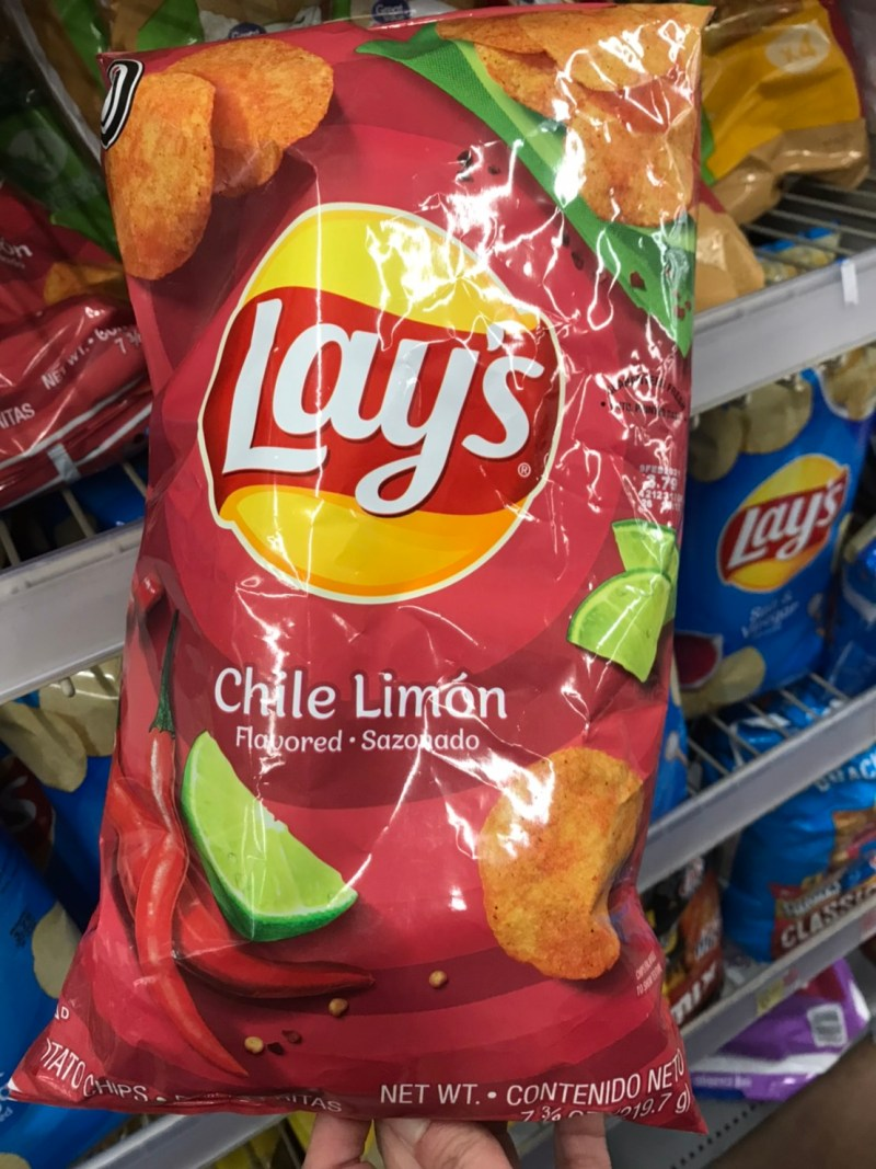Chile limon flavor