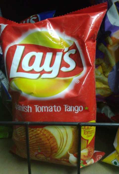 Spanish tomato tango chips