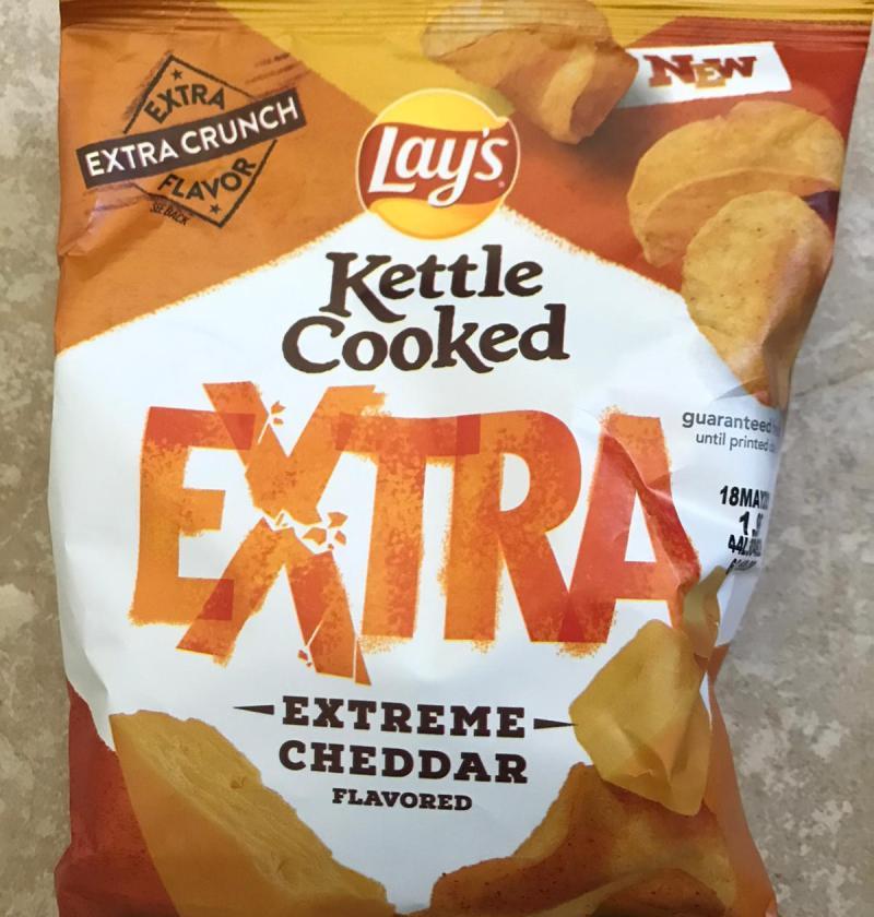 Extreme cheddar flavor