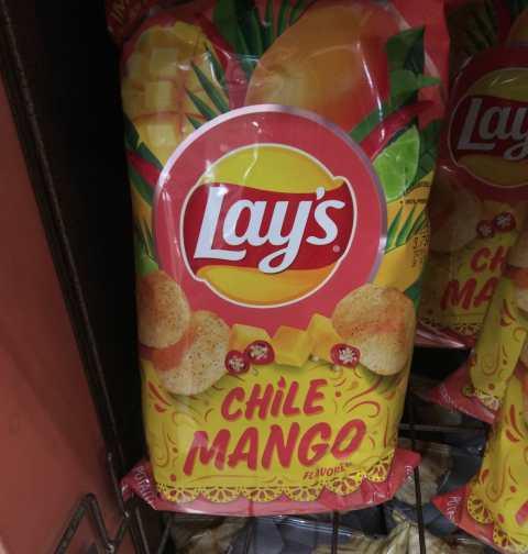 Chile mango flavor