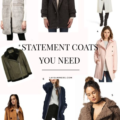 Statement Coats You Need This Winter