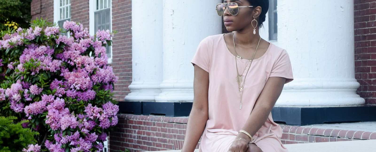 Pink Blossoms | Easy Summer Outfit
