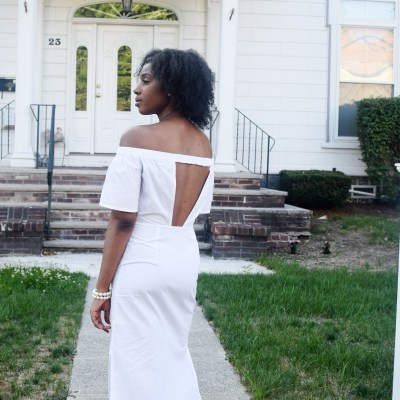 A Twist on the White Summer Dress