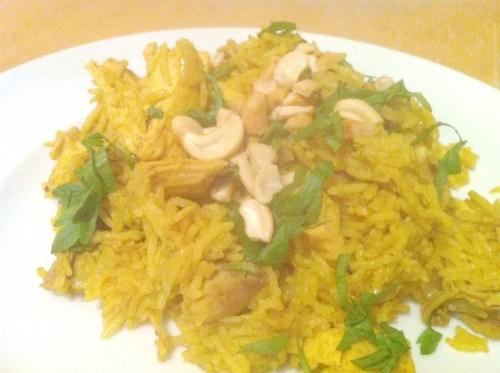 Aromatic Chicken Biryani, Lay The Table