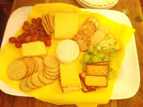 Now THATS what I call a cheese board #2, Lay The Table