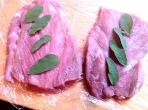 Sous Vide Parma ham-wrapped pork tenderloin stuffed with sage and Dolcelatte, Lay The Table