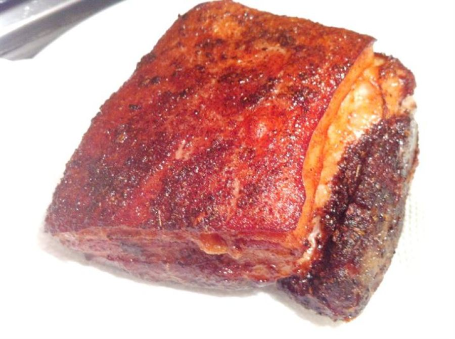 Sous Vide 50-hour Pork Belly with Chinese Spices, Lay The Table