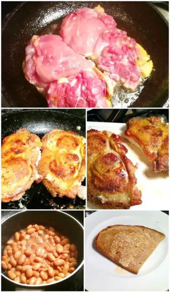 De-Boned Roast Guinea Fowl Stuffed with Parma Ham & Mascarpone Parcels, Lay The Table