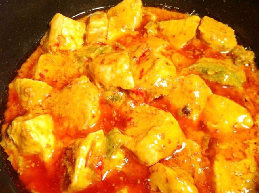 Thai Red Curry with Chicken, Lay The Table