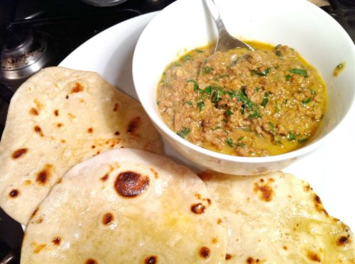 Lamb, Orange & Mint Keema Curry, Lay The Table