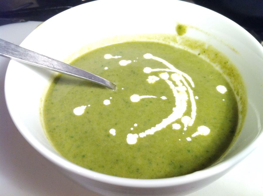 Wild Garlic Soup, Lay The Table