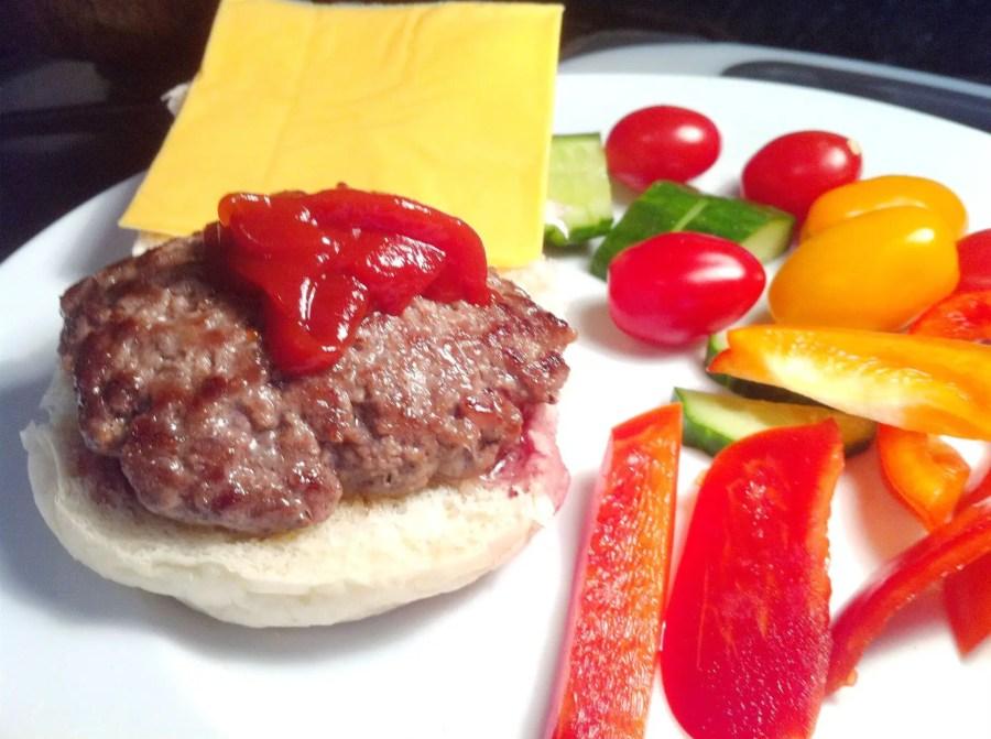 Sweet Chilli Ketchup Burger, Lay The Table