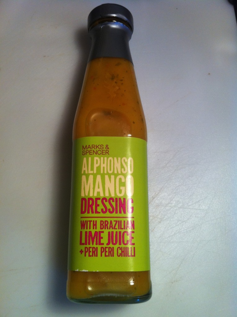 Review: M&S Alphonso Mango Dressing with Brazilian Lime Juice and Peri-Peri Chillies, Lay The Table