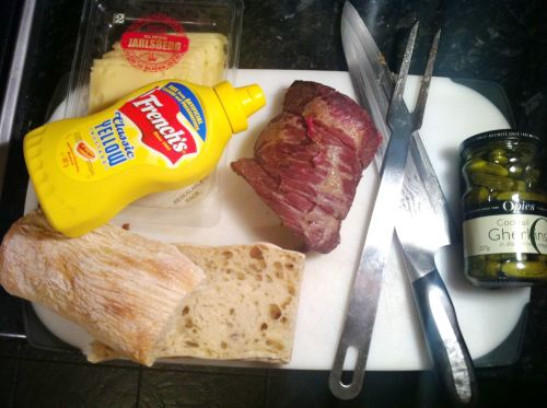 How to make Salt Beef at home, Lay The Table